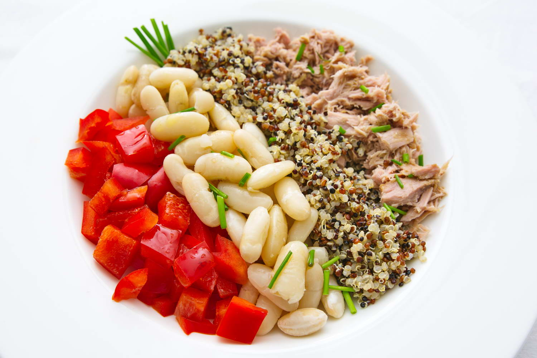 Bohnen-Quinoa-Paprika